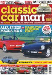 Vol.20 No.8 Alfa Spider vs Mazda MX-5 issue Vol.20 No.8 Alfa Spider vs Mazda MX-5