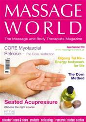 Massage World Aug-Sept 2010 issue Massage World Aug-Sept 2010