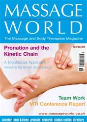 Massage World Apr–May 2009 issue Massage World Apr–May 2009