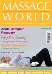 Massage World Feb–Mar 2009 issue Massage World Feb–Mar 2009