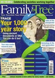 Family Tree July 2014 issue Family Tree July 2014
