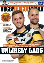 Rugby League World Magazine Cover