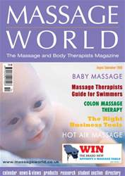 Massage World Aug–Sep 2008 issue Massage World Aug–Sep 2008