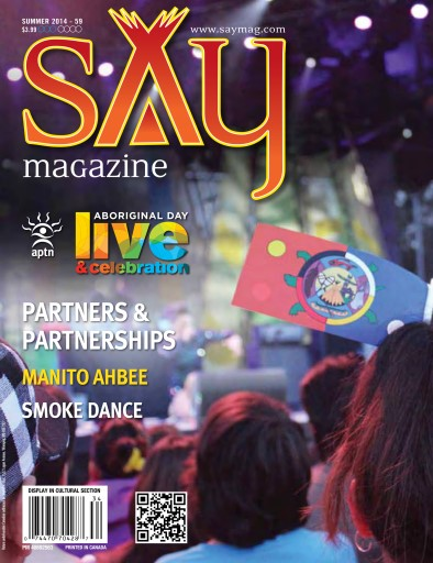 Say Magazine Preview