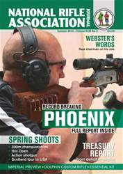 National Rifle Association Journal Magazine Cover
