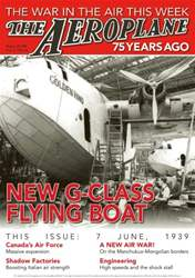 *38 New G-Class Flying Boat issue *38 New G-Class Flying Boat