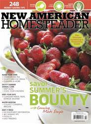New American Homesteader issue New American Homesteader