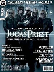 Terrorizer 250 Judas Priest issue Terrorizer 250 Judas Priest