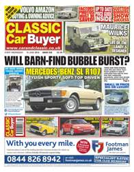 No.233 Will Barn-Find Bubble Burst? issue No.233 Will Barn-Find Bubble Burst?