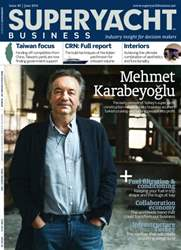 SuperYacht Business Magazine Cover