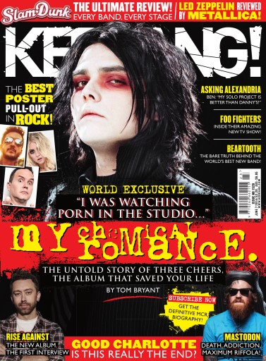 Kerrang Magazine - 7th June 2014 Subscriptions | Pocketmags