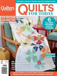 Quilts For Today #2 issue Quilts For Today #2