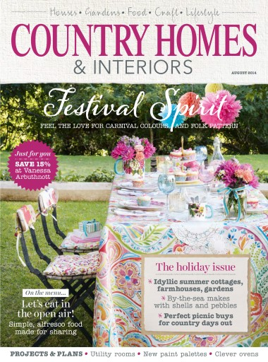 Country Homes Interiors Magazine August 2014