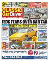No.234 Fed Fears Over Car Tax issue No.234 Fed Fears Over Car Tax