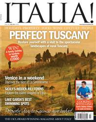 July 14 – Perfect Tuscany issue July 14 – Perfect Tuscany