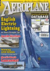 No.496 English Electric Lightning issue No.496 English Electric Lightning