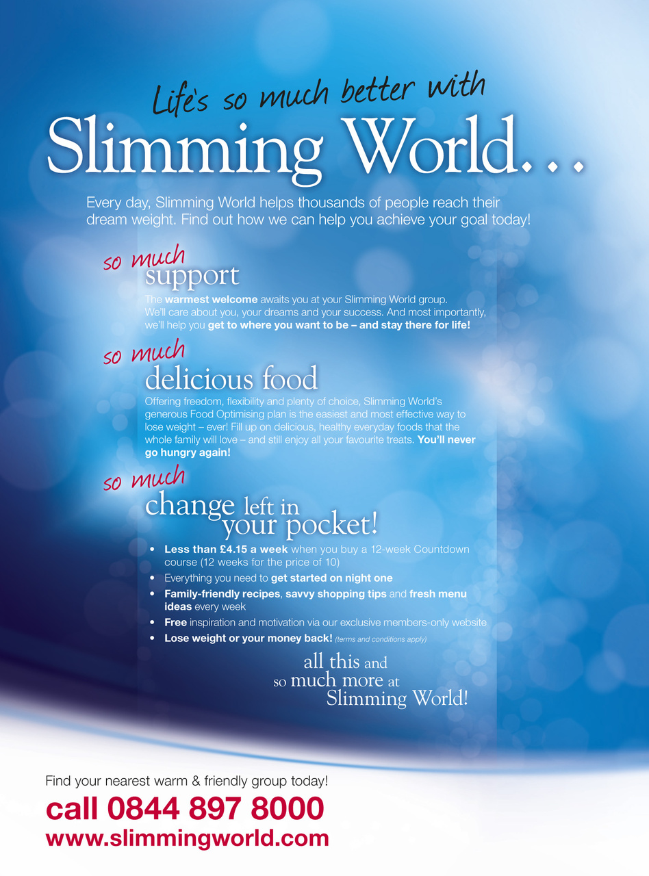 Slimming World Magazine 88 Mar Apr 2011 Subscriptions