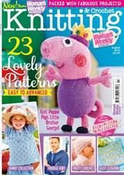 Knitting & Crochet Magazine Cover