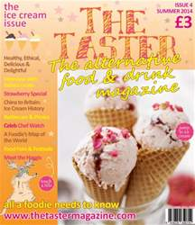 The Taster Magazine Magazine Cover