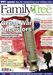 Family Tree August 2014 issue Family Tree August 2014