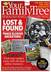 Your Family History Magazine Cover