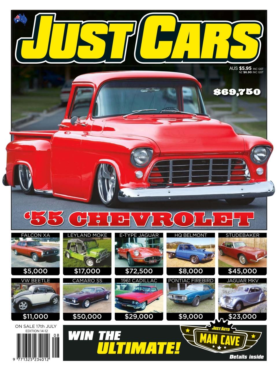 just cars magazine just cars 222 14 12 subscriptions pocketmags. Black Bedroom Furniture Sets. Home Design Ideas