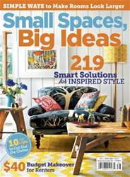 Small Spaces Big Ideas 2014 issue Small Spaces Big Ideas 2014