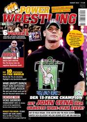 Power-Wrestling Magazine Cover
