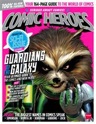 Comic Heroes Magazine Cover