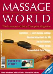 Massage World Aug-Sept 2007 issue Massage World Aug-Sept 2007