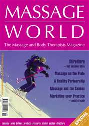 Massage World Dec-Jan 2006 issue Massage World Dec-Jan 2006