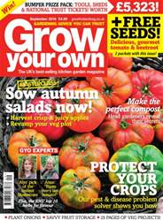 Grow Your Own Magazine Cover