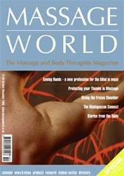 Massage World Oct-Nov 2006 issue Massage World Oct-Nov 2006