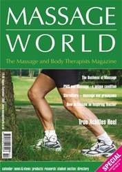 Massage World Aug-Sep 2006 issue Massage World Aug-Sep 2006