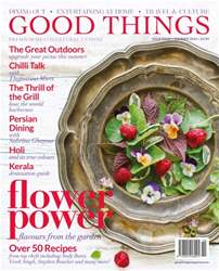 Good Things Magazine Magazine Cover