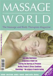 Massage World Apr–May 2006 issue Massage World Apr–May 2006