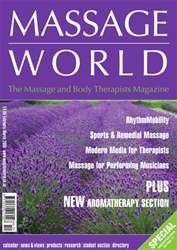 Massage World Feb–Mar 2006 issue Massage World Feb–Mar 2006