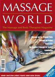 Massage World Aug–Sep 2005 issue Massage World Aug–Sep 2005