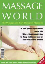 Massage World Jun-Jul 2005 issue Massage World Jun-Jul 2005