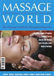 Massage World Apr–May 2005 issue Massage World Apr–May 2005