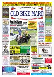 Old Bike Mart Magazine Cover