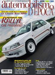 Automobilismo d'Epoca 8-9 2014 issue Automobilismo d'Epoca 8-9 2014