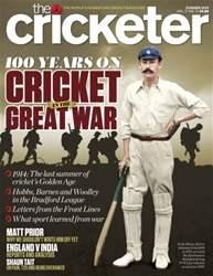 The Cricketer Magazine Magazine Cover