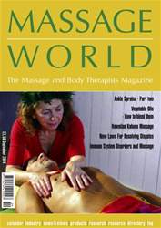 Massage World Sept 2004 issue Massage World Sept 2004