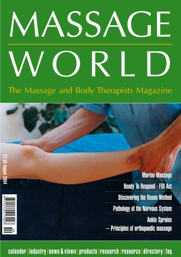 Massage World Digital Issue