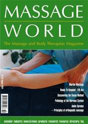 Massage World Aug 2004 issue Massage World Aug 2004