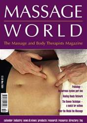 Massage World May 2004 issue Massage World May 2004