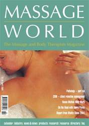 Massage World Apr 2004 issue Massage World Apr 2004