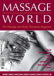 Massage World Feb 2004 issue Massage World Feb 2004