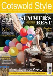 Cotswold Style August 2014 issue Cotswold Style August 2014